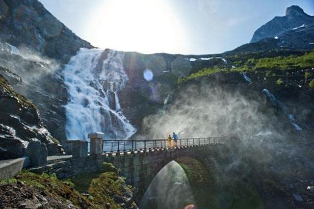 Дорога троллей, Дорога троллей Норвегия, фото