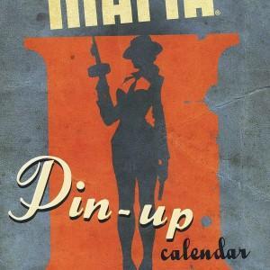 Очаровательные гангстерши, Mafia 2 Pin-up Calendar, Mafia 2, пин-ап, календарь