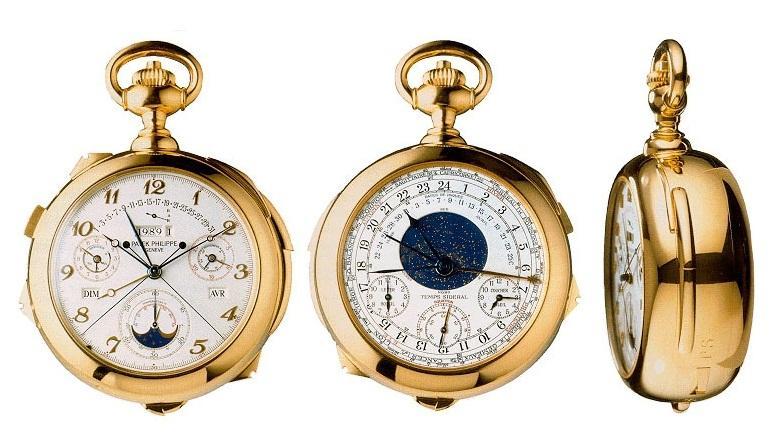 Самые сложные часы, самые сложные часы в мире, Patek Philippe Calibre 89, фото