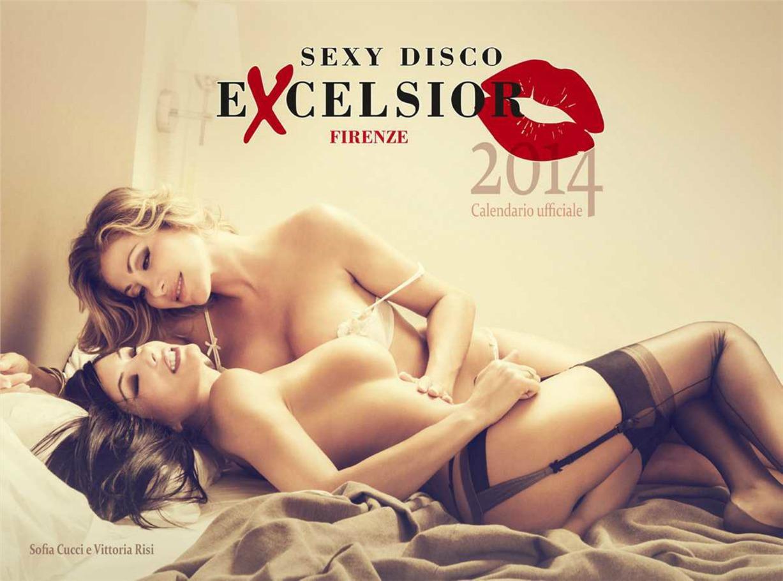 Sexy Disco Excelsior Calendar 2014, эротический календарь, календарь 2014, девушки, фото
