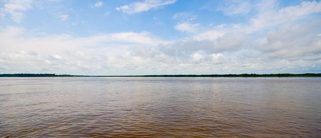 Амазонка, река Амазонка, самая большая река