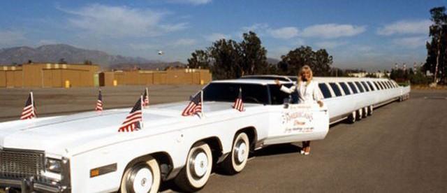 Американская мечта, American Dream, лимузин, фото