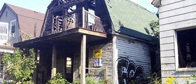 Заброшенные дома в Детройте, дома Детройта