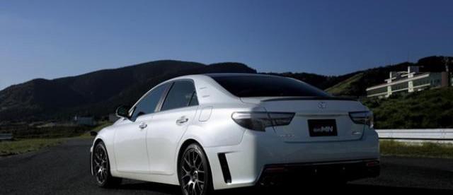 Toyota Mark X GRMN, фото