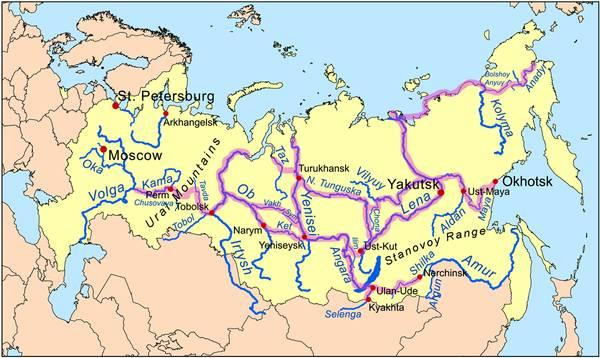 Worlds Longest Rivers 7