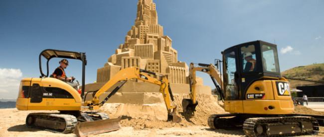 Самый большой замок из песка, фото